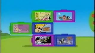 Dairylea Lunchables Cartoon Network UK 2003 Anzeige