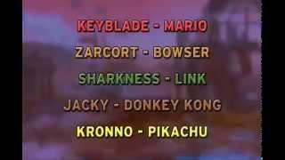 KEYBLADE, ZARCORT, SHARKNESS, JACKY Y KRONO | SUPER SMASH BR...