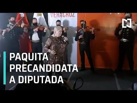Paquita la del Barrio busca candidatura como diputada en Veracruz - Despierta