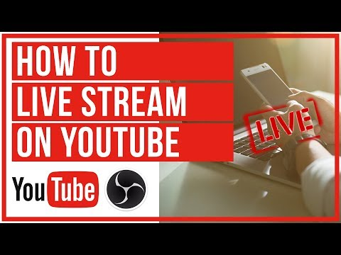 How To Live Stream On YouTube With OBS - Start To Finish
