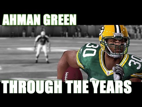 Ahman Green Through the Years - NCAA Football 98 - Madden 11