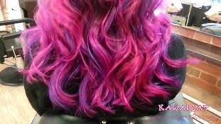 Техника окрашивания омбре на темных волосах(http://salon.kawaicat.ru Техника окрашивания омбре на темные волосы, будь оно цветное или в натуральных тонах одинаков..., 2016-02-25T17:07:37.000Z)