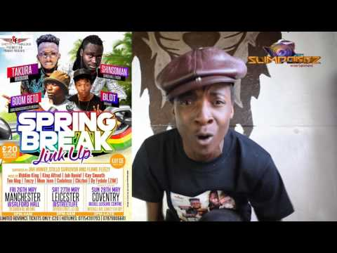 SHINSOMAN AND BLOT SPRING BREAK LINK UP 2017 | BY SLIMDOGGZ ENTERTAINMENT