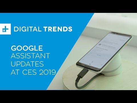 Google Assistant Updates at CES 2019