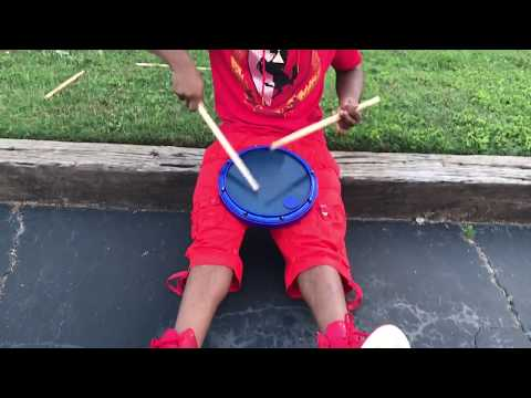 Amazing Snare Drum Solo by Atlanta Drum Academy.