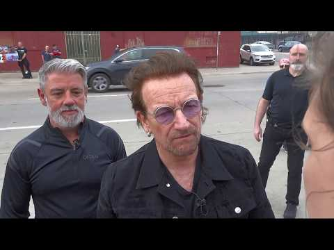 Meeting Bono & Edge in Tulsa - May 1, 2018