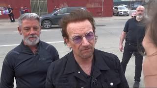 Meeting Bono & Edge in Tulsa - May 1, 2018