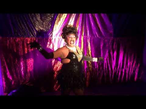 Nana Miss Koori, Black Nulla Cabaret, Koori Gras, Sydney, Feb 2017