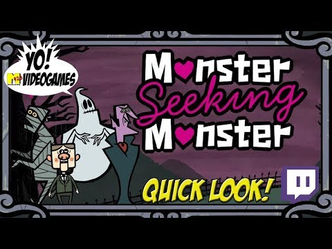 Jackbox Party: Monster Seeking Monster! Quick Look! - YoVideogames
