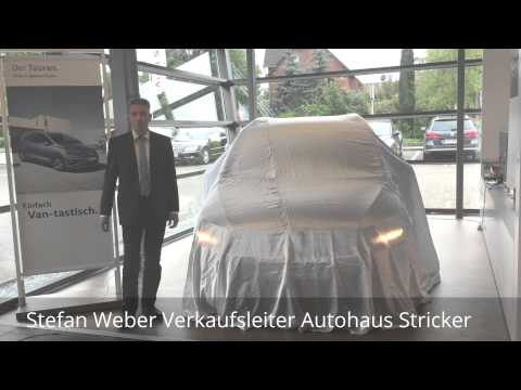 stefan weber autohaus stricker der neue touran youtube. Black Bedroom Furniture Sets. Home Design Ideas