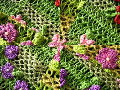 Hairpin Lace Crochet Spring Top Youtube