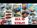 Hot Wheels 2018 Super Treasure Hunt List!!! All 15 + Ultimate STH!!!