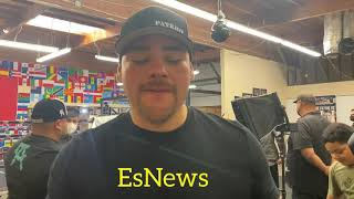 Andy Ruiz inspired by manny pacquiao