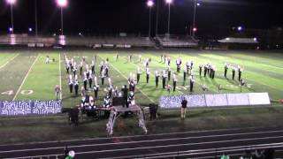 Arundel High School Marching Band Home Show 10/31/15