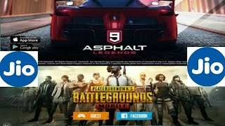 How to download pubg , Asphalt 9 , Fortnite with jio internet.