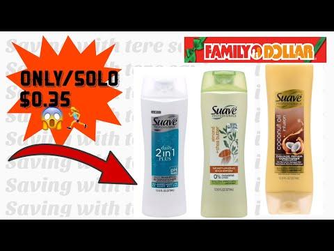 SUPER CHEAP SUAVE AR FAMILY DOLLAR 🏃♀️🏃♀️/ SUPER BARATO EL SUAVE EN FAMILY DOLLAR 🏃♀️😱