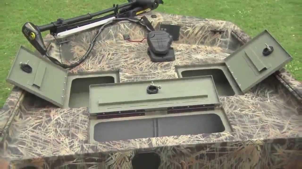 Ranger 1760 Aluminum Side Console Jon Youtube