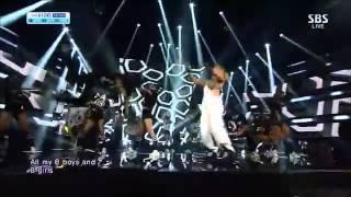 CL SBS Inkigayo THE BADDEST FEMALE