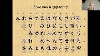 Спряжения и основы глаголов японского языка