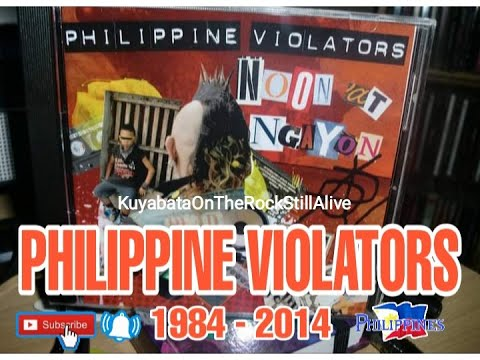 PHILIPPINE VIOLATORS 1984 2014