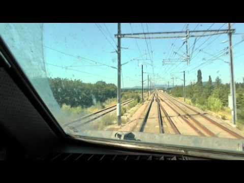 [CAB] Time lapse Marseille/Lyon by TGV
