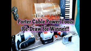 Re-Draw for Porter Cable Power Tool Set