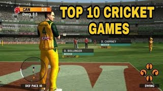 Top 10 Cricket games for android