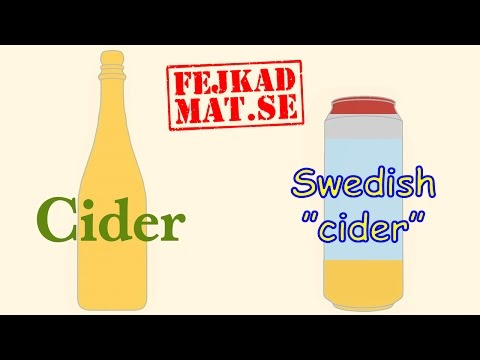 The Difference Between Real Cider And Fake