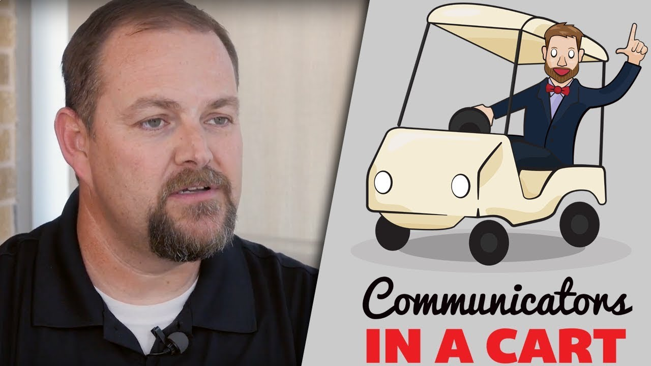 Eric Crouch | Communicators in a Cart