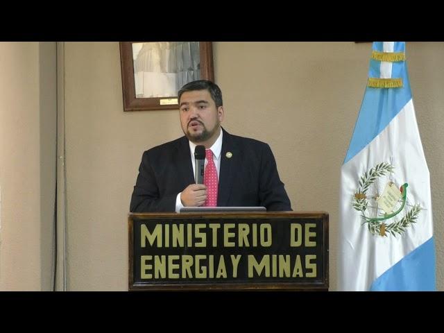 Firma de convenio entre el Ministerio de Energía y Minas y la Cámara de Industria de Guatemala