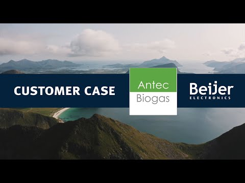 Beijer Electronics customer case: Antec Biogas