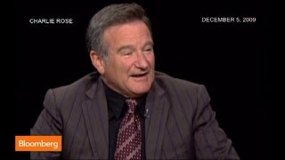 Robin Williams' Wall Street Jokes Make Charlie Rose Laugh Hysterically