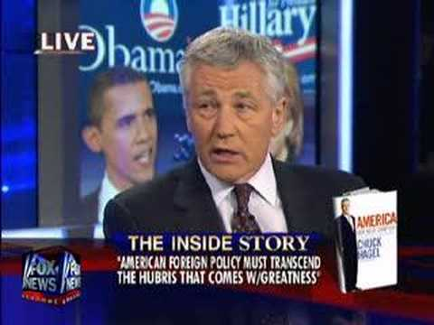 Senator Chuck Hagel Discusses Iraq on Hannity & Colmes