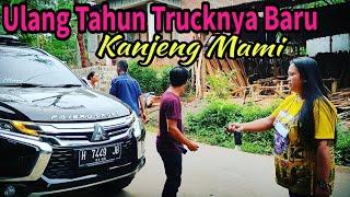 Ulang Tahun Dibelikan Truck Baru Langsung Dibawa Karoseri || Kanjeng mami Squad