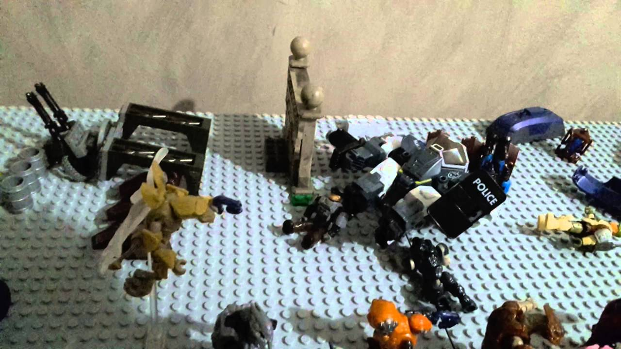 Fireteam Hurricane Diorama 4 Halo Mega Bloks Youtube