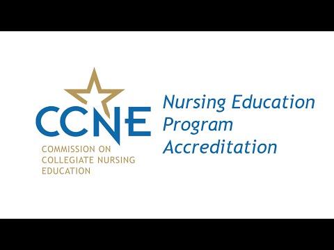 Baccalaureate & Graduate Nursing Programs - CCNE Accreditation