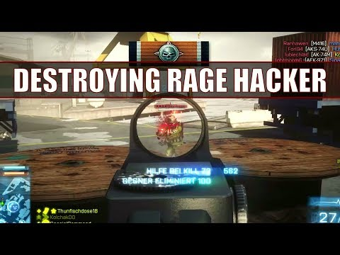 Battlefield 3 | Rage Hacker Wants To Kick Me