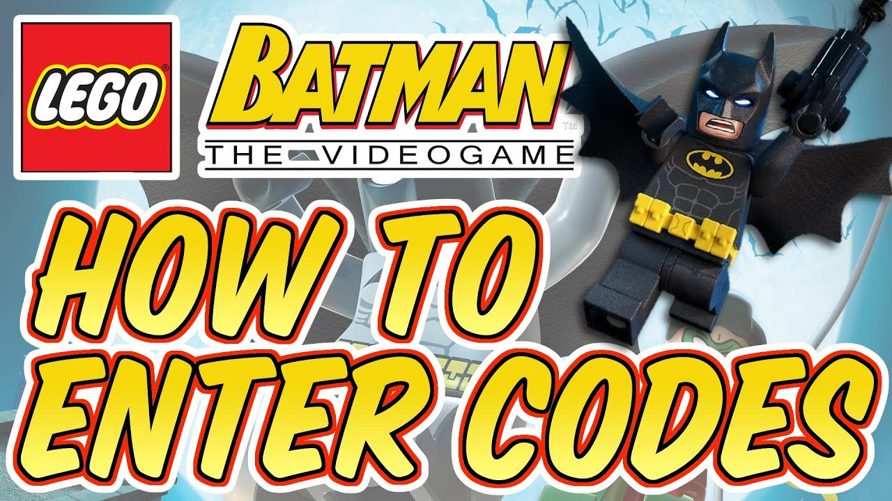 Lego Batman: The Videogame - How to Enter Cheat Codes ...