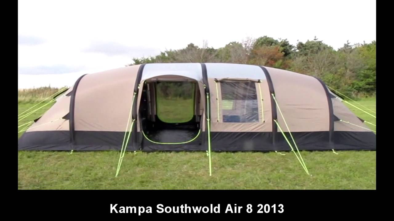& Kampa Southwold 8 Air - 2013 - YouTube