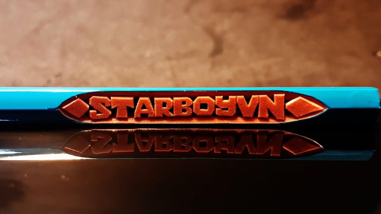 Vlog khắc 22: Khắc bút chì Idol Free Fire: STARBOYVN  TranVuPencl