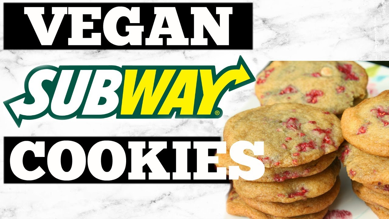 Subway Raspberry Cheese Cake Cookies