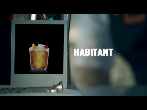 HABITANT DRINK RECIPE - HOW TO MIX