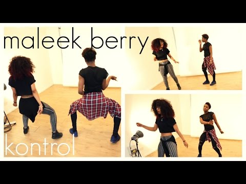 Maleek Berry - Kontrol (Dance Video) | @itsjustnife @nessa_i2cute | Chop Daily | Afro Beats