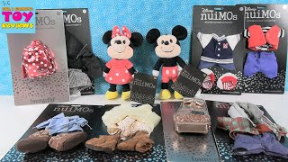 Disney Nuimos Mickey Minnie Plush + Tons Of Outfits Loungefly Review