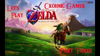 Let's Play The Legend Of Zelda Ocarina Of Time 3DS! Semi-Blind Part 3