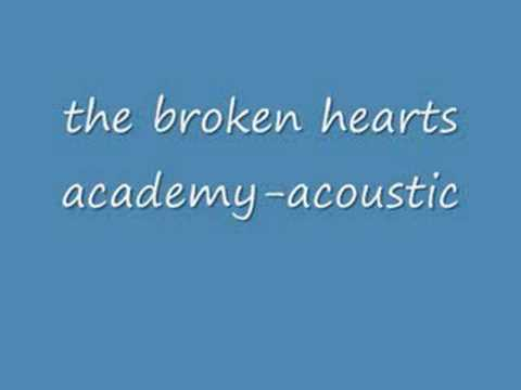 the broken hearts academy-acoustic