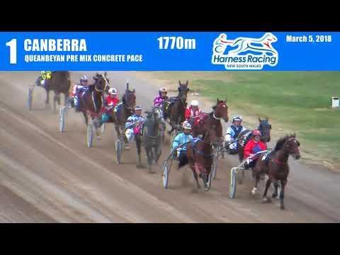 CANBERRA - 05/03/2018 - Race 1 - QUEANBEYAN PRE MIX CONCRETE PACE