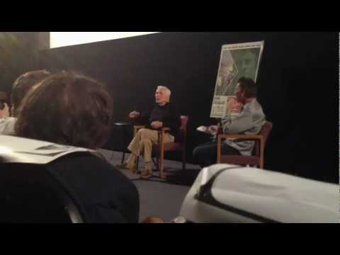 Kirk Douglas tells a story about Errol Flynn (Los Angeles Sept. 2012)