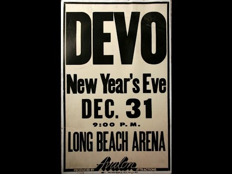 Devo- Live At The Long Beach Arena 1979/12/31