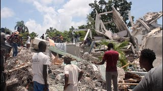 video: Haitians desperately search for survivors as confirmed death toll from major earthquake hits 1,297
